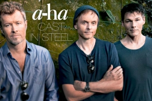 "A-ha ""Cast in Steel"" koncertturnejas plakāts"